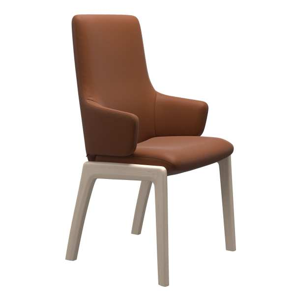 Laurel High Back D100 Stressless Dining Chair 3