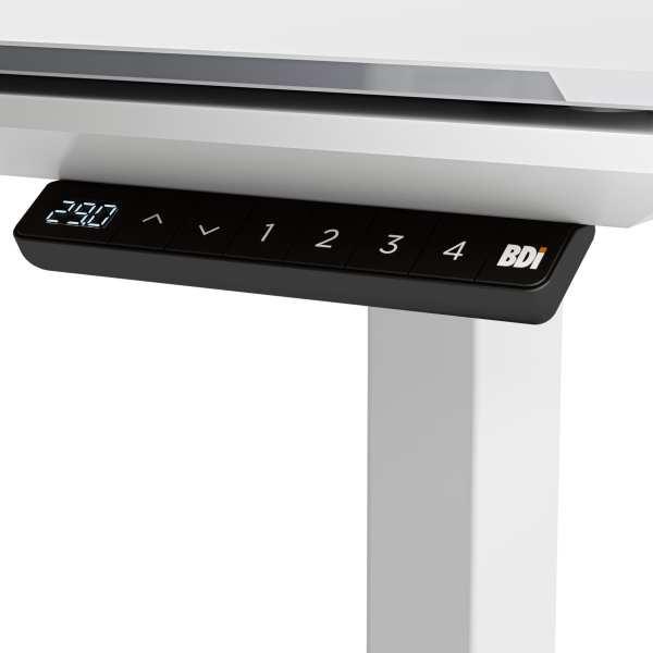 Centro 6451 Standing Desk White 4