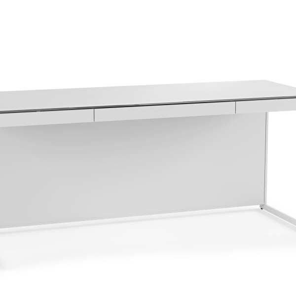 Centro Office Desk 6401 Satin White 3