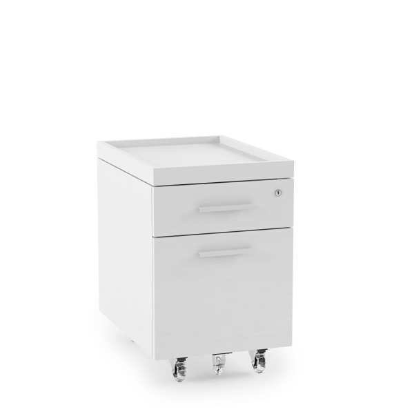 Centro Office File Cabinet 6401 White 3
