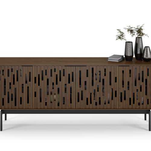 Code 7379 Storage Console & Media Cabinet | BDI Furniture Toasted Walnut 3