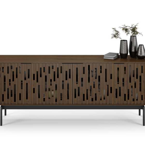 Code 7379 Storage Console & Media Cabinet | BDI Furniture Toasted Walnut 3
