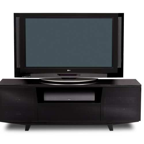 Marina 8729-2 Media TV Cabinet Black 1