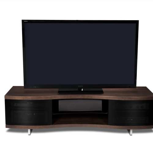 Ola Media Console 8137 Chocolate Stained Walnut 4