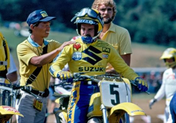 Mark Barnett - Suzuki Motocross - barnett-005