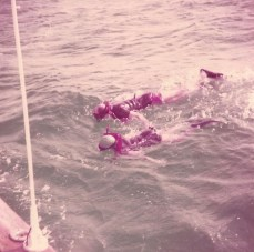 Bob & Betty snorkeling