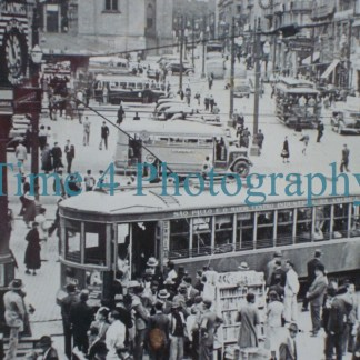 Images of trams and streetcars