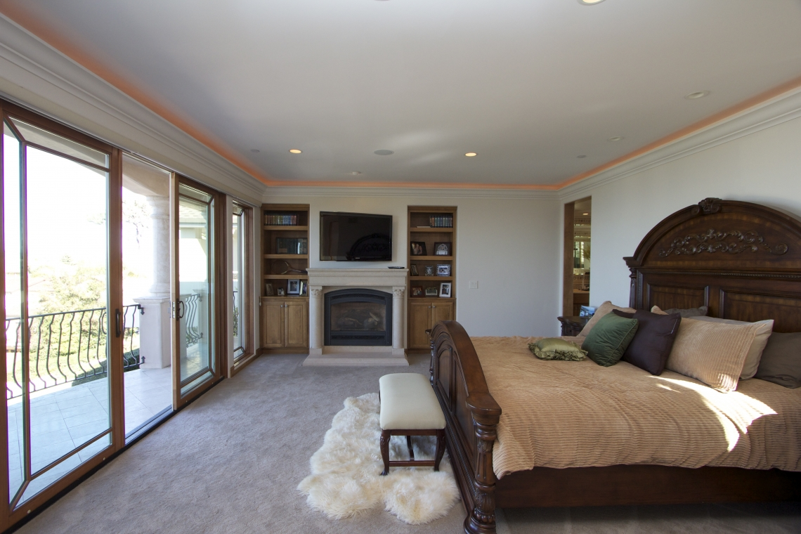 La Jolla Luxury Master Bedroom Before And After Robeson