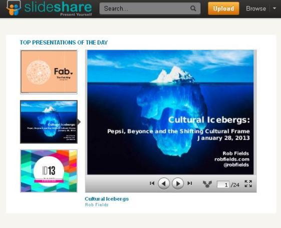 slideshare-homepage