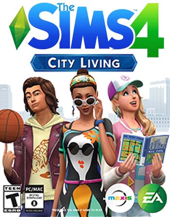The Sims 4: City Living Torrent Download