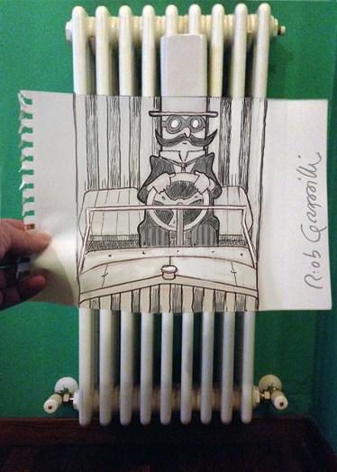 #INKtober DAY #9 #disegniGrassilli#decreasedreality #realtàdiminuita #radiators