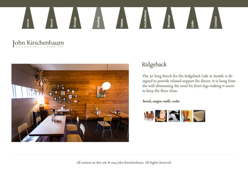 John Kirschenbaum Website