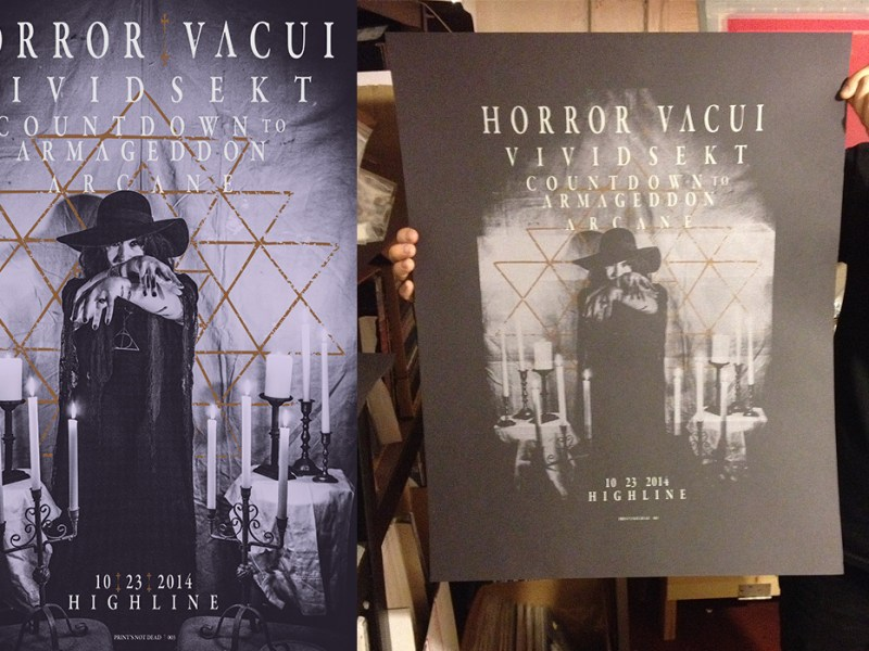 Horror Vacui Poster – PND 003