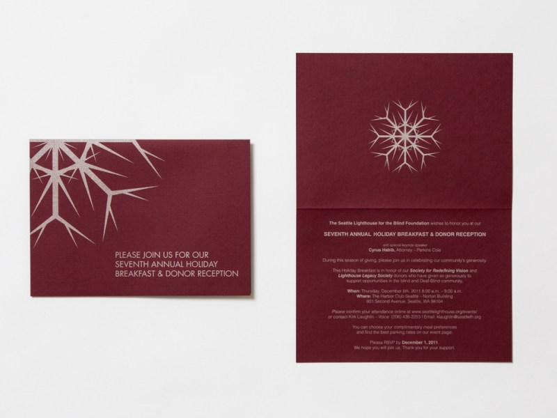 Invitation Card – The Lighthouse for the Blind, Inc.