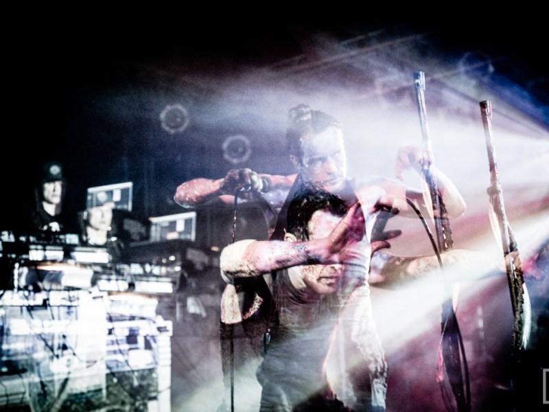 Skinny Puppy, Front Line Assembly, Haujobb, Youth Code live at Showbox SoDo 12.15.2014