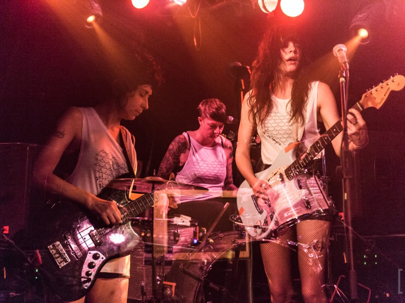 The Coathangers, Tussi 3000 Live at Cassiopeia 31.05.2017