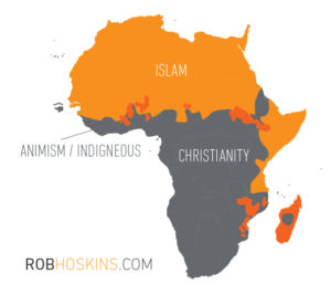 5 Things We Can Learn from the African Church-Map