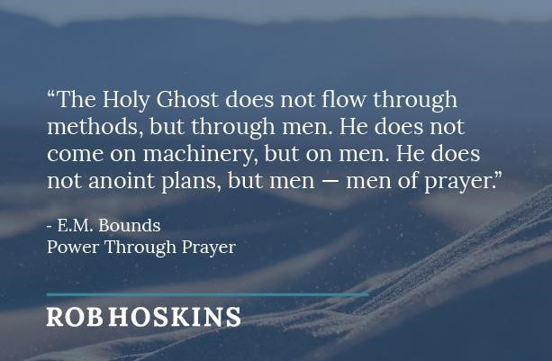 holy ghost does not flow through