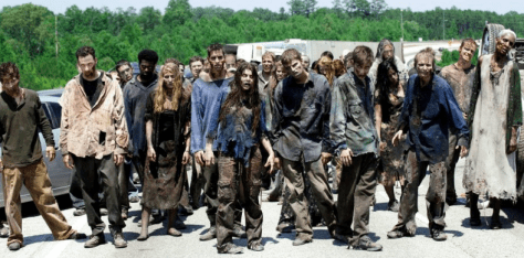 We the Walking Dead People and our cold, dead hands.