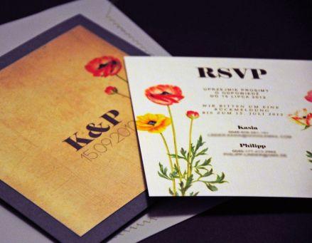 Niesztampowe zaproszenia ślubne - Robimy Śluby