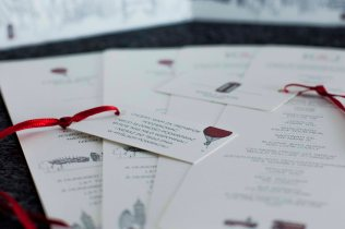 Indywidualne dodatki ślubne - menu, słowniczki weselne