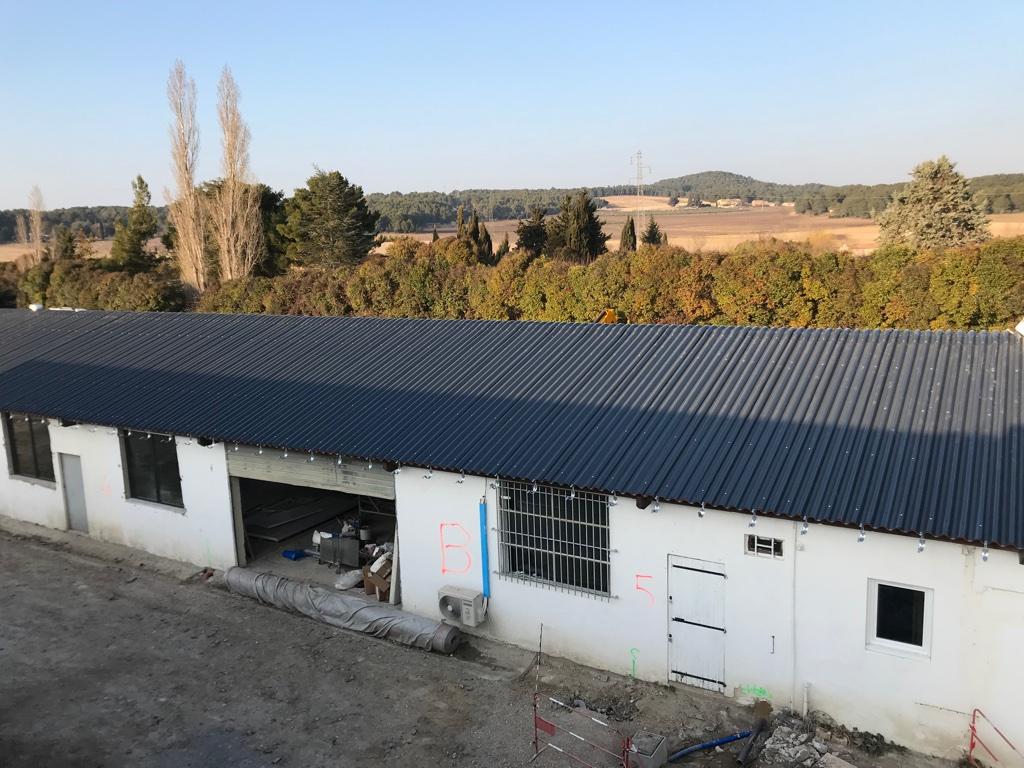 Rénovation toiture amiantée Venelles