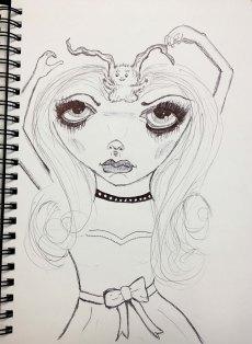 monster-head-sketch