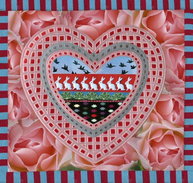 A mushy valentine Photoshopped by Robin Botie of Ithaca, New York, for her daughter Marika who died of leukemia five years ago.