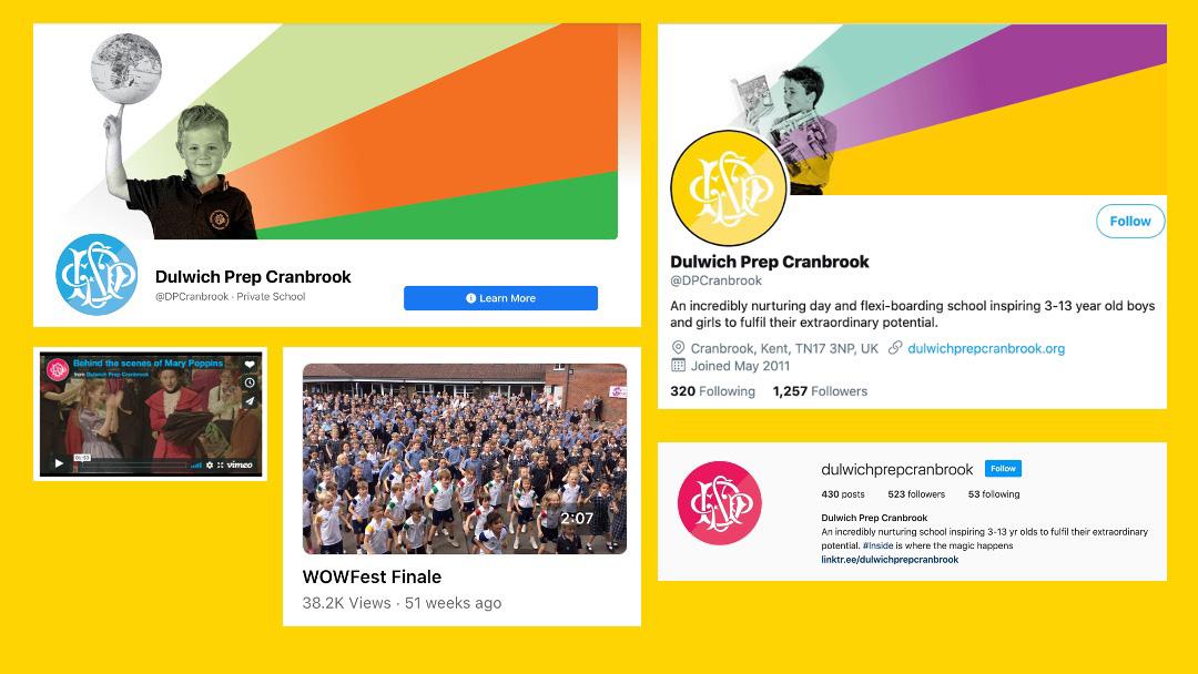 Dulwich Prep Cranbrook Social Media