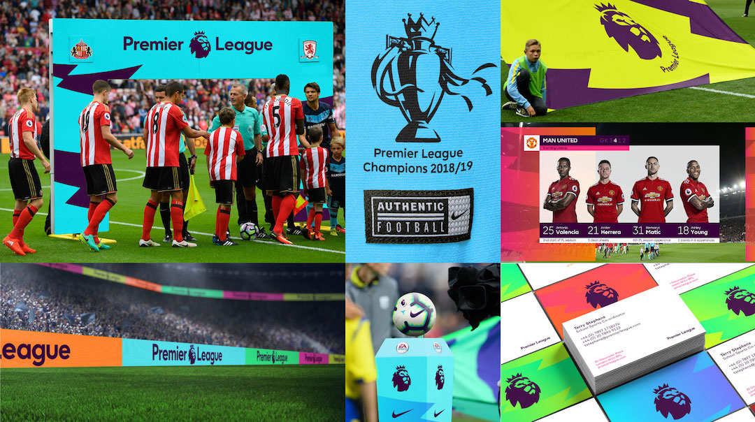 Premier League Brand Refresh Applications