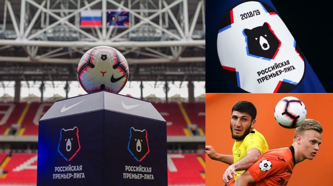Russian Premier League Brand Applications