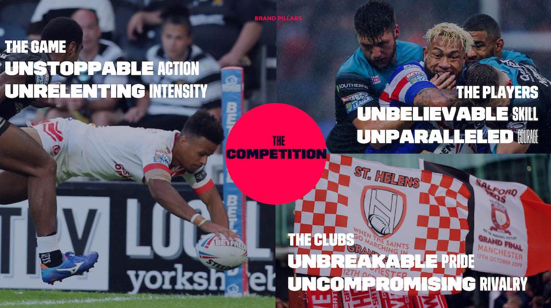 Super League Brand Pillars
