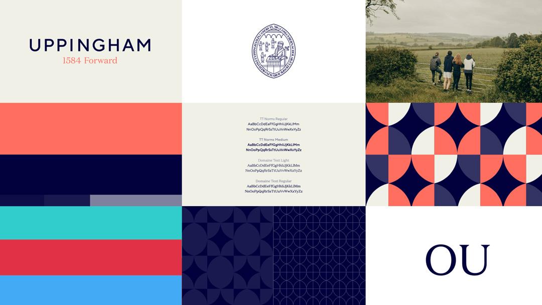 Uppingham Brand identity