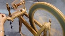 Spinning Wheel by Shieladixon / CC BY-SA