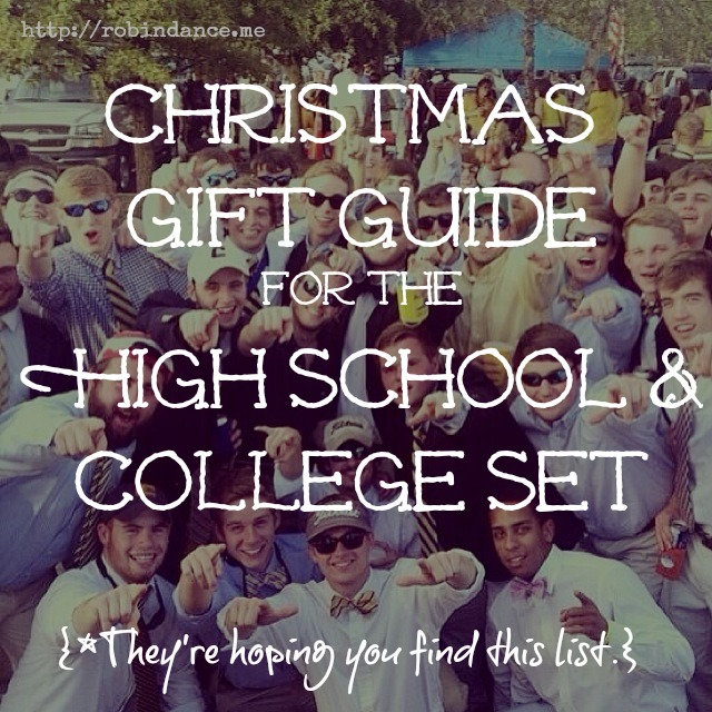 Christmas Gift Guide For Teens And College Students