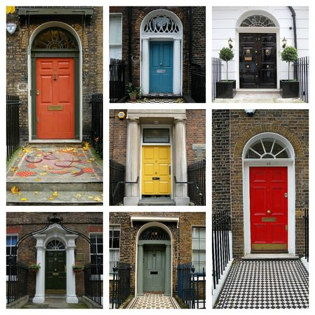 Colorful Doors of London
