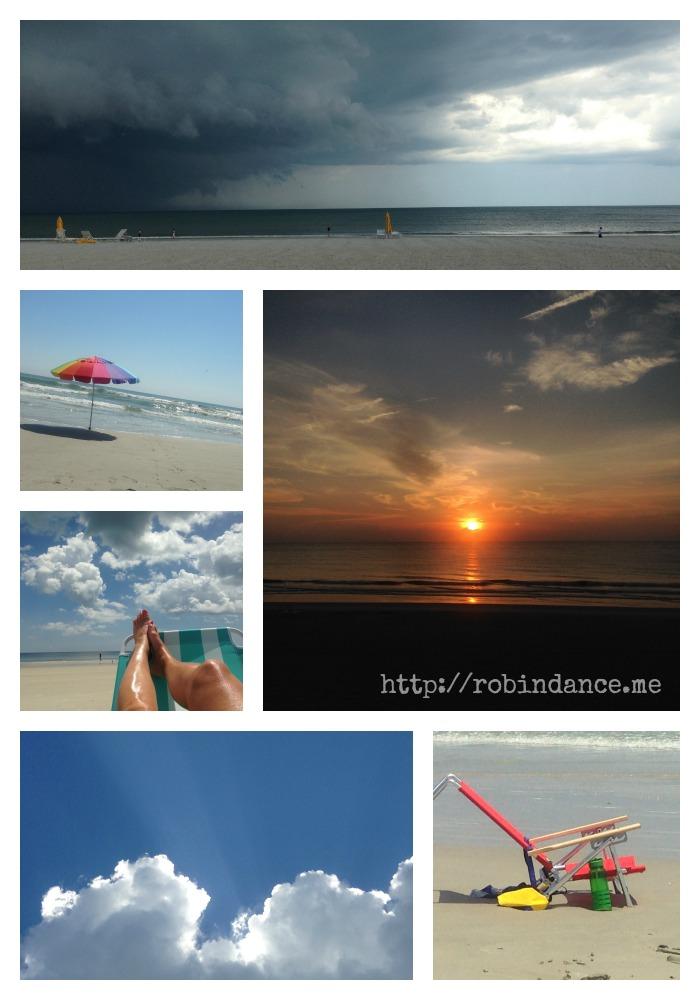 Beach Collage - Robin Dance