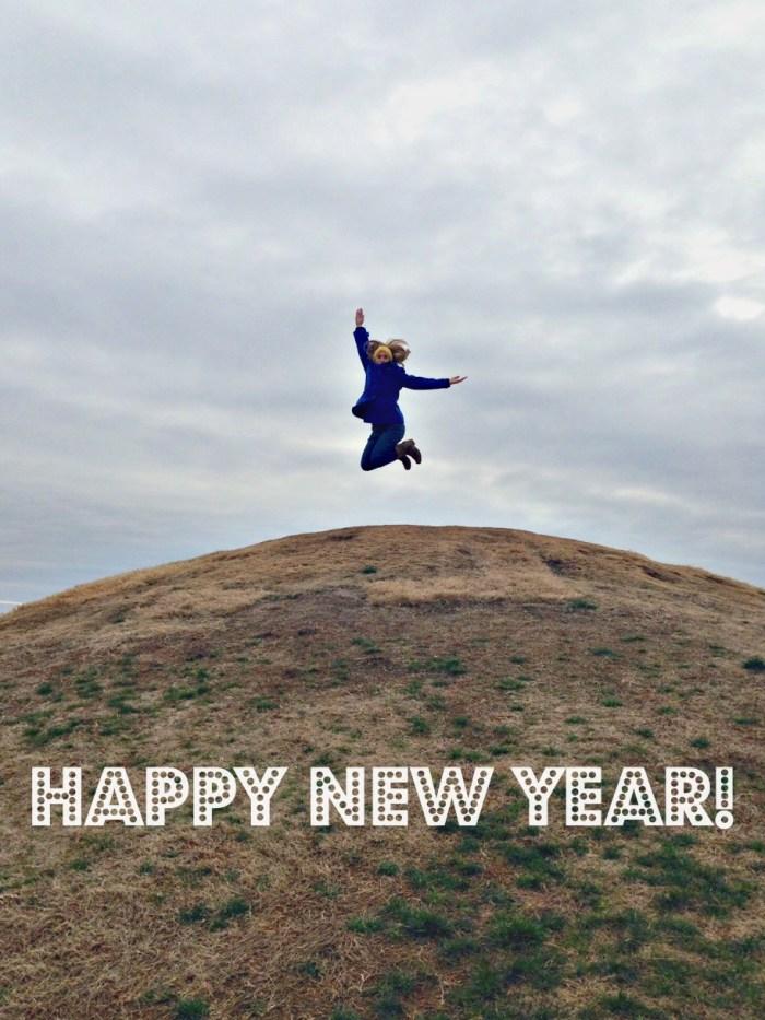 Happy New Year - Jump