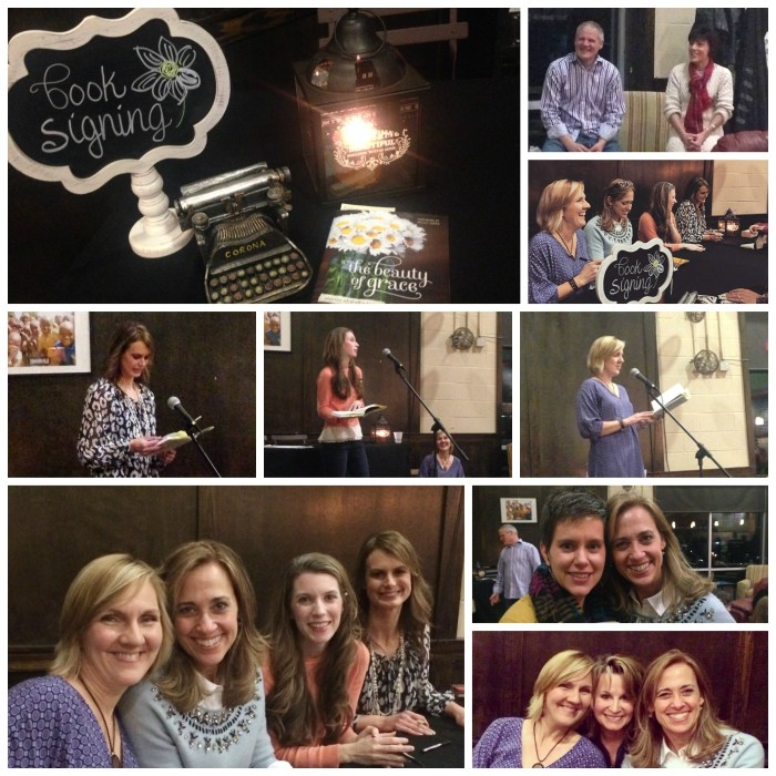 The Beauty of Grace Book Launch Party pics