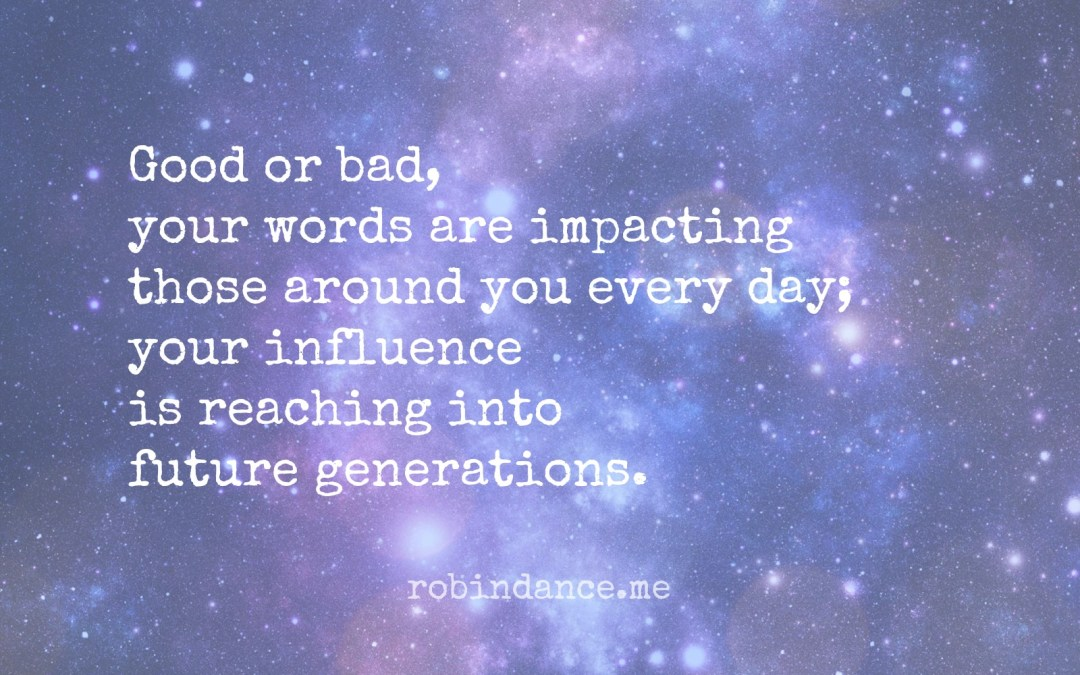 Your Influence Matters