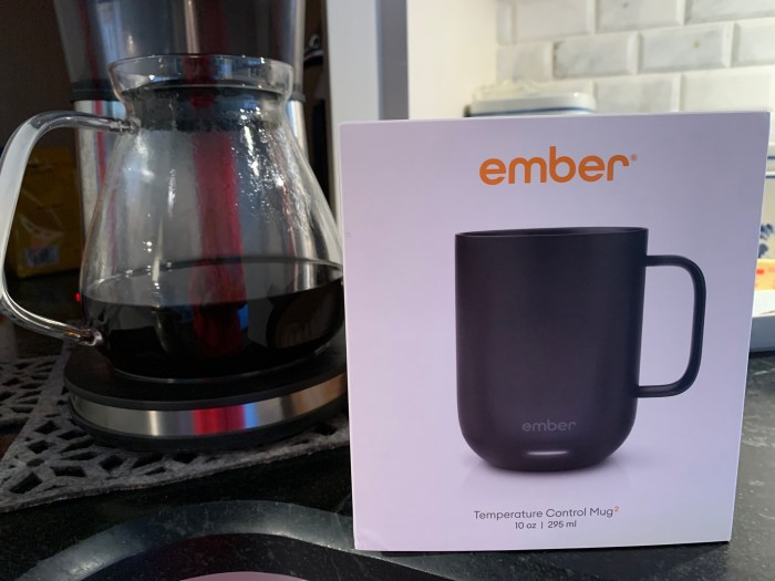 Ember mug + Bonavita Coffee Maker = a winning combination!