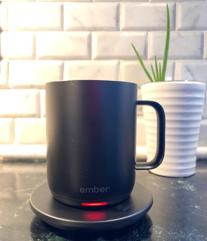 Black ember mug