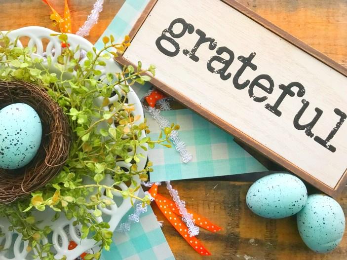 Monday Grateful Nest