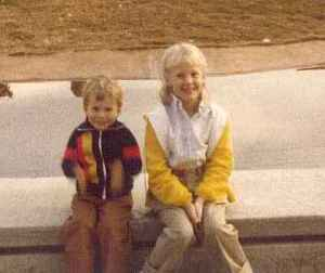 Childhood Robin and Adam