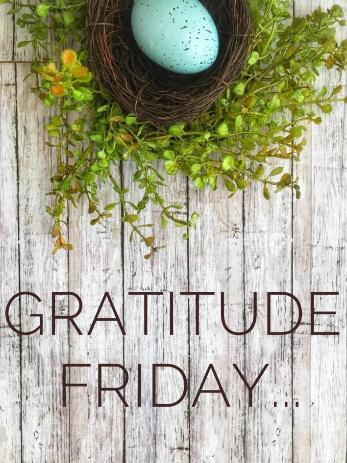 Gratitude Friday: The Discipline of Small