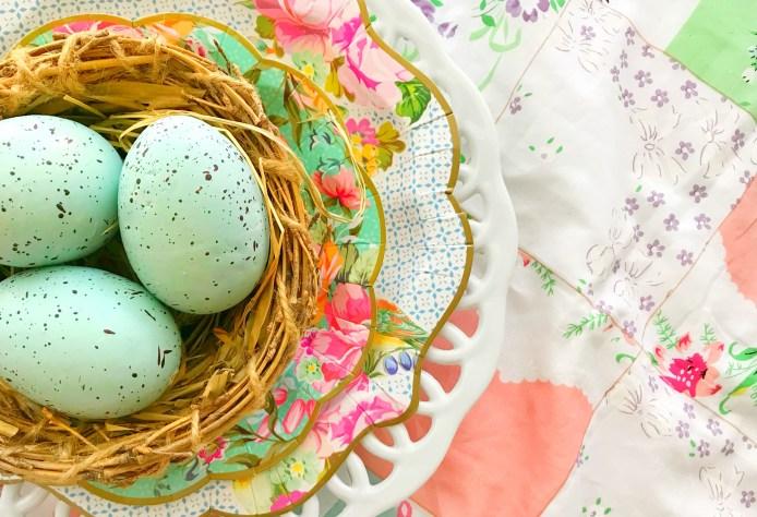 Vintage Tea Party Grateful Nest
