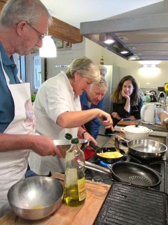 Robin's cookery workshop