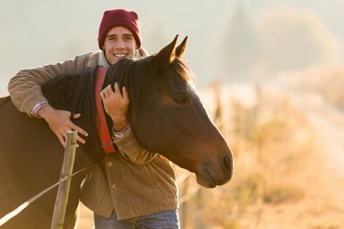 Help for Injured Veterans Through Horse Therapy