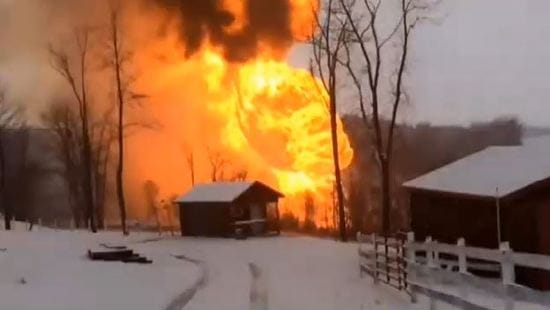 Brooke County WV Pipeline Explosion