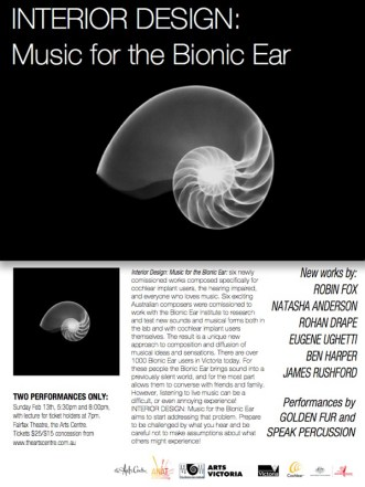 Bionic Ear flyer
